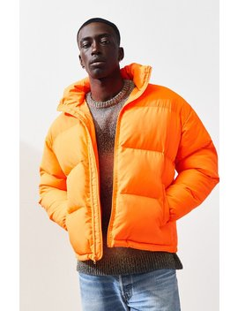 Pac Sun Solid Puffer Jacket by Pacsun