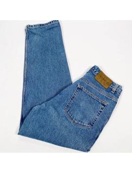 Vintage Ck Calvin Klein Dark Blue Straight Fit Denim Jeans by Calvin Klein  ×  Vintage  ×  American Vintage  ×