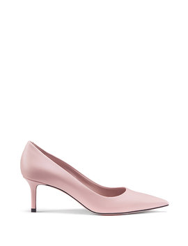 Italian Leather Pumps With Pointed Toe Italian Leather Pumps With Pointed Toe by Boss