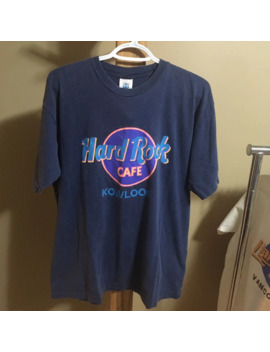 Hard Rock Cafe Save The Planet Kowloon T Shirt Vintage by Vintage  ×  Hard Rock Cafe  ×