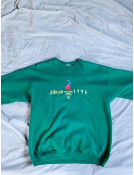 Vintage Champion Atlanta 1996 Olympics Crewneck Sweatshirt by Vintage  ×  Usa Olympics  ×