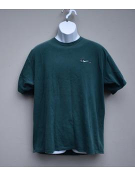 Vintage 90s Green Nike Swoosh T Shirt by Nike  ×  Vintage  ×