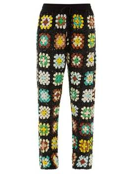 Elasticated Waist Sequinned Trousers by Ashish