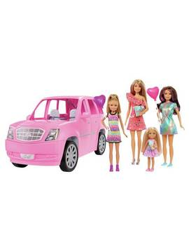 Barbie Limo And 4 Dolls922/3637 by Argos