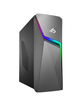 Asus Rog Strix Gaming Pc   Grey (Intel Core I7 9700 K/1 Tb Hdd/512 Gb Ssd/16 Gb Ram/Ge Force Rtx 2060) by Best Buy