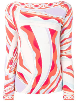 Top Met Lange Mouwen by Emilio Pucci
