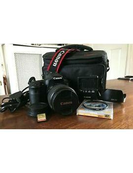 Canon Eos 60 D 18.0 Mp Digital Slr Camera   Black (Kit W/ Ef S Is Usm 17 85mm by Ebay Seller