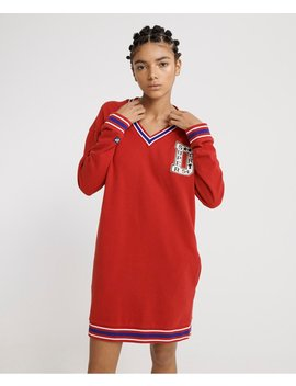 Campus Sweat Dress by Superdry