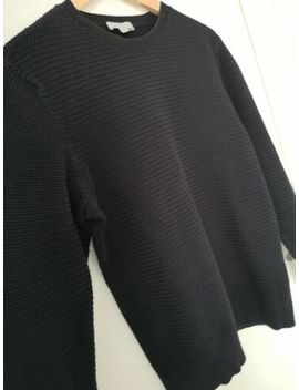 "Cos Mens Blue Jumper 100% Indian Cotton Size Medium 43"" Chest Sweater Knitwear by Ebay Seller"
