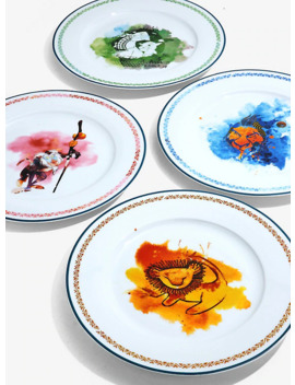 Disney The Lion King Watercolor Dinner Plate Set by Hot Topic