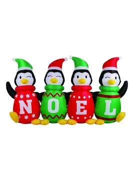 6 Ft. Inflatable Sweater Penguins by Airflowz
