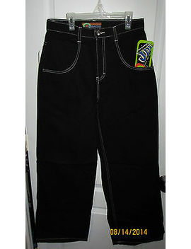 30 X 32 Black Jordache Utility Jeans Heavy Load Capacity Maximum Weight Pants by Ebay Seller