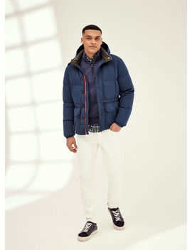 Short Padded Hooded Jacket by Hacket