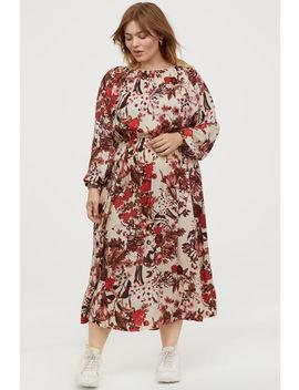 H&M+ Sukienka Z Marszczeniem by H&M
