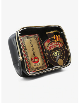 Danielle Nicole Harry Potter Hogwarts Express Makeup Bag Set by Hot Topic