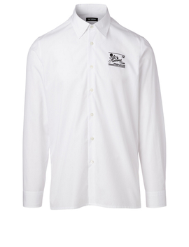 Cotton Shirt With Embroidery by Holt Renfrew