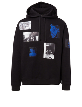 Pictures Cotton Hoodie by Holt Renfrew