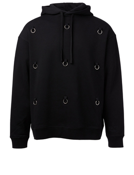 Cotton Hoodie With Rings by Holt Renfrew