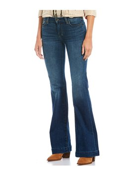 Dojo Wide Leg Flare Jeans by 7 For All Mankind