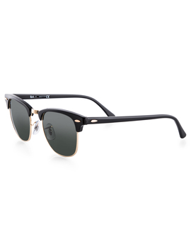 Ray Ban Clubmaster Classic Rb3016 W0365 49 Sunglasses   Black by Ray Ban