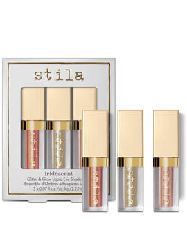 Stila Iridescent Glitter &Amp; Glow Duo Chrome Liquid Eyeshadow Set by Stila