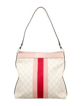 Gg Plus Web Shoulder Bag by Gucci