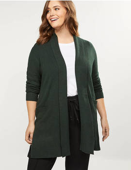 Shawl Collar Overpiece by Lane Bryant