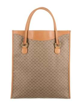 Vintage Micro Gg Tote by Gucci