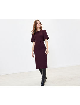 Crew Neck Shift Dress by Oasis