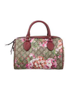 Small Gg Supreme Blooms Top Handle Bag by Gucci