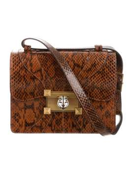 Snakeskin Small Osiride Flap Bag by Gucci