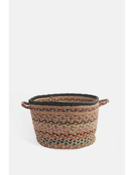 Kashmir Small Utility Basket Kashmir Small Utility Basket by The Braided Rug Company