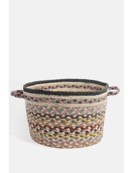 Pashmina Medium Utility Basket Pashmina Medium Utility Basket by The Braided Rug Company