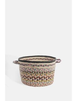 Pashmina Small Utility Basket Pashmina Small Utility Basket by The Braided Rug Company