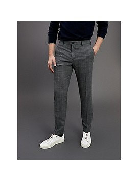 Tommy Hilfiger Tailored Slim Fit Th Flex Check Trouser by Tommy Hilfiger