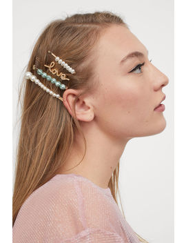 4 Pack Hair Grips by H&M