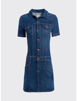 Amazing Denim Mini Dress by Alice And Olivia