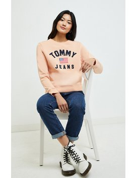 Tommy Jeans Americana Crew Neck Sweatshirt by Pacsun