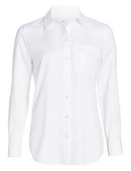 Guan Tb Monogram Jacquard Shirt by Burberry