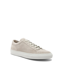 Suede Original Achilles Low Suede by Common Projects