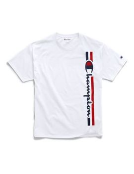 Champion Men's Classic Jersey Tee, Vertical Logo by Champion