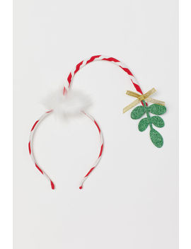 Alice Band With Mistletoe by H&M