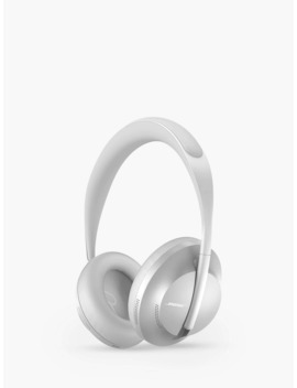 Bose® 700 Noise Cancelling Over Ear Wireless Bluetooth Headphones With Mic/Remote, Silver by Bose®
