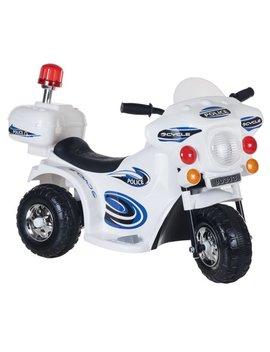Ride On Toy, 3 Wheel Motorcycle For Kids, Battery Powered Ride On Toy By Hey! Play! – Toys For Boys And Girls, Toddler   4 Year Old, Police Car by Hey! Play!