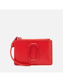 Marc Jacobs Women's Top Zip Multi Wallet   Geranium by Marc Jacobs
