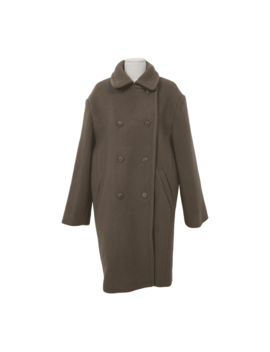 Double Breasted Wool Blend Coat by Stylenanda