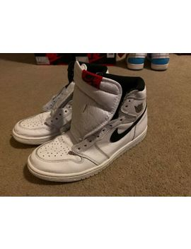 Air Jordan 1 Retro High Ying Yang White/Black 555088 102 Us Size 8.5 by Whites