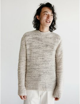 Our Legacy Base Roundneck   Raw Wool Mix by Garmentory