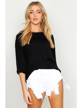 Basic Pocket Detail Oversized T Shirt by Boohoo