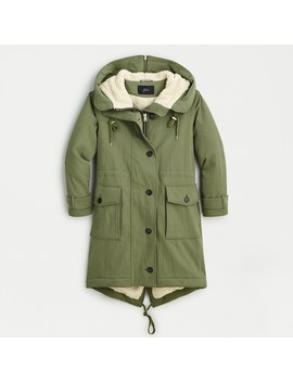 Sherpa Lined Utility Parka by J.Crew